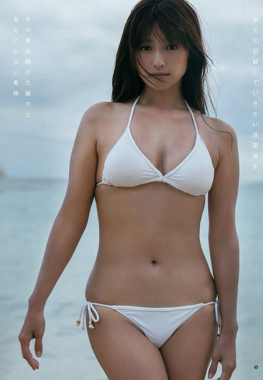 深田恭子の水着グラビア