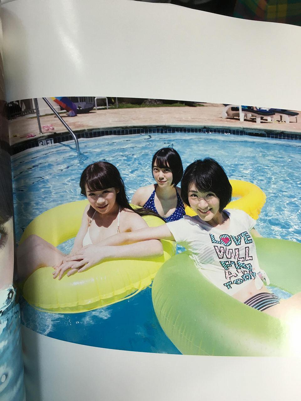 乃木坂46のセカンド写真集「1時間遅れのI love you.」画像(生駒里奈)