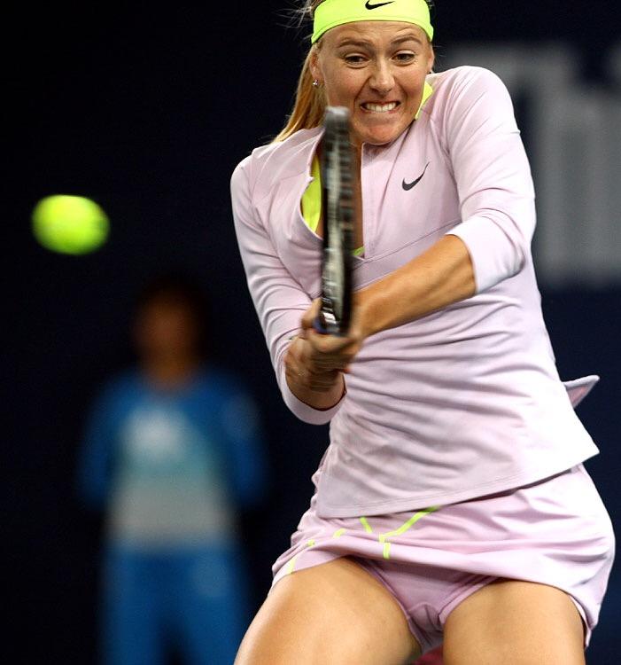 テニス中にパンチラしたマリア・シャラポワのマンスジ