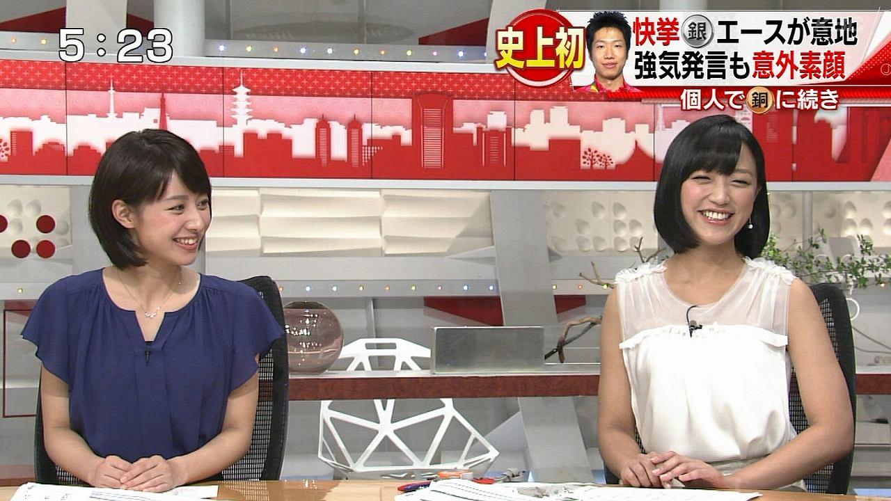 テレ朝「スーパーJチャンネル」でスケスケのノースリーブワンピースを着た竹内由恵