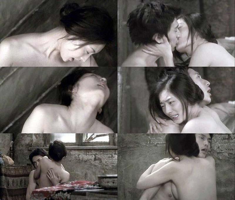 映画「赤い月」の伊勢谷友介と常盤貴子の濡れ場