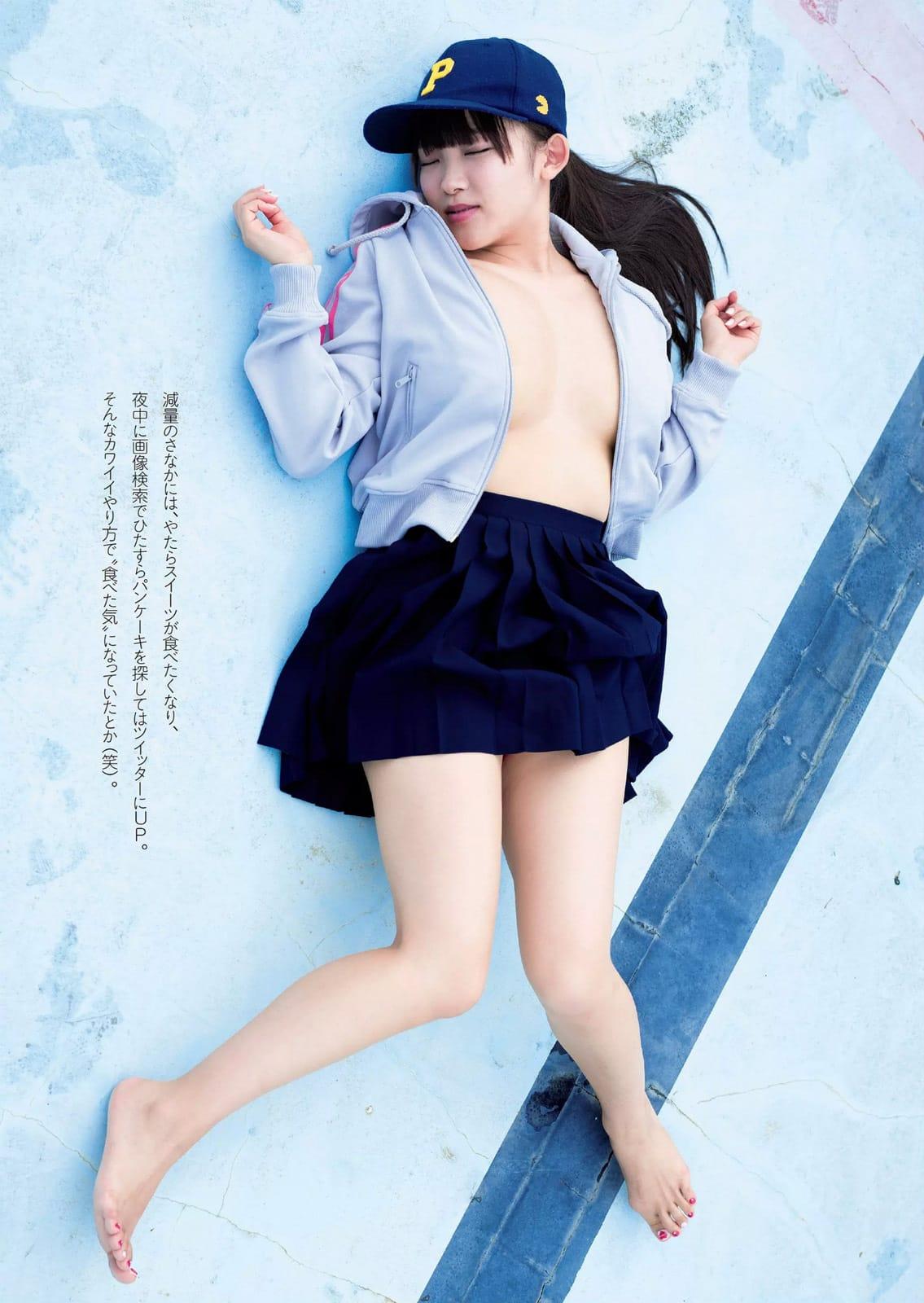 「週刊プレイボーイ 2016 No.24」天木じゅんのノーブラおっぱいグラビア