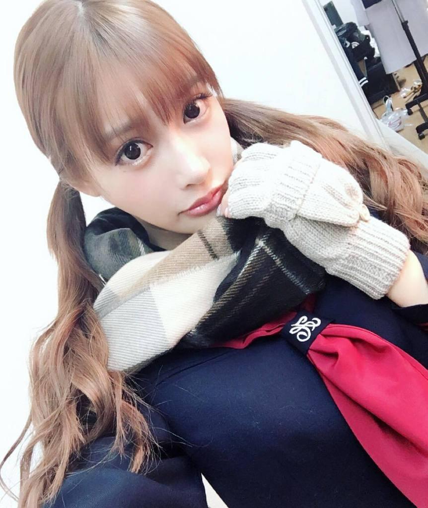 明日花キララの自撮り画像