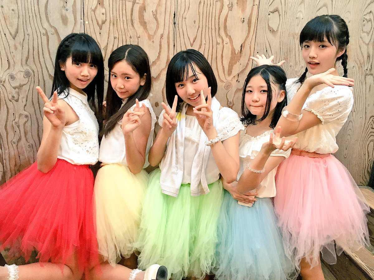 つりビットのメンバー画像(竹内夏紀、安藤咲桜、聞間彩、長谷川瑞、小西杏優)