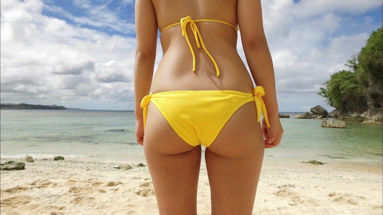 平嶋夏海の「Beach Angels」キャプチャ画像