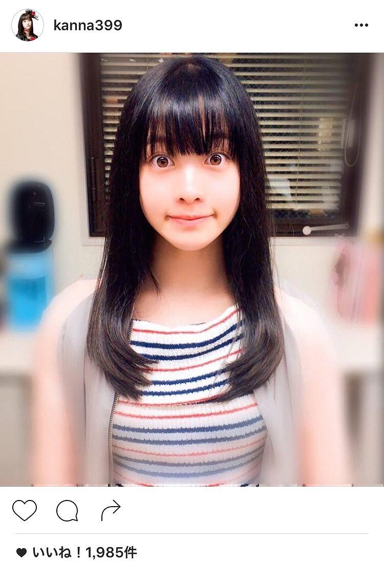 橋本環奈のインスタグラム画像