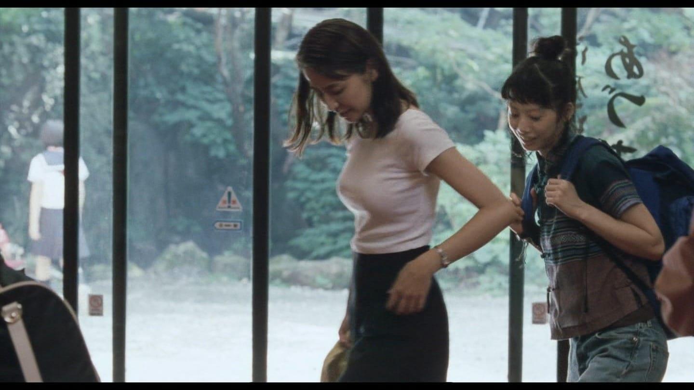 映画「海街diary」でニットを着た長澤まさみの着衣巨乳