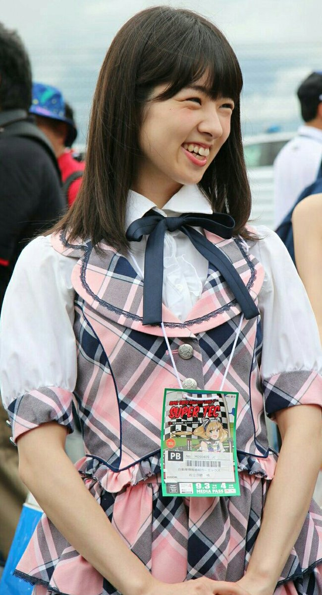 AKB48の岩立沙穂