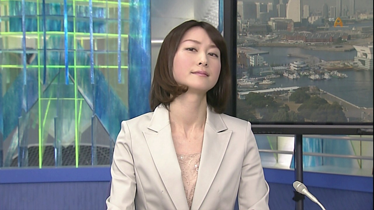 小川彩佳アナのエロい目線