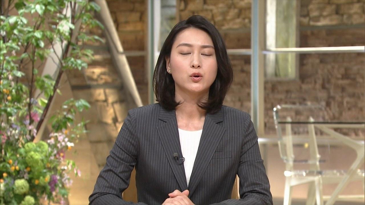 テレ朝「報道ステーション」、小川彩佳アナのキス顔