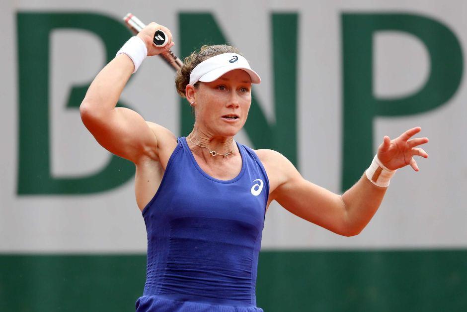 女性テニス選手・サマンサ・ストーサーの筋肉