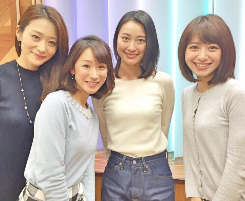 テレ朝の小川彩佳アナ