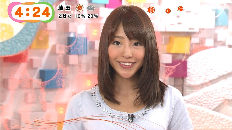 フジテレビ「めざましテレビ」の岡副麻希