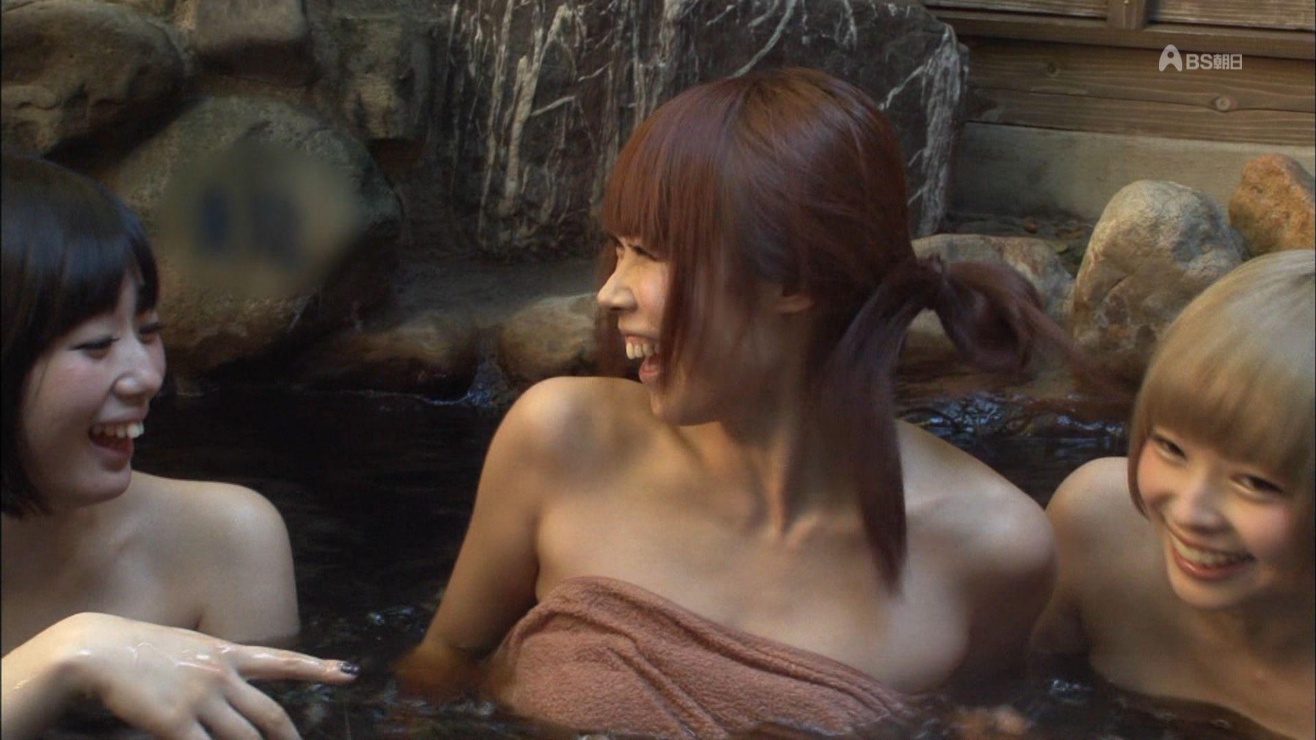 TBS「大久保じゃあナイト」で入浴する最上もが