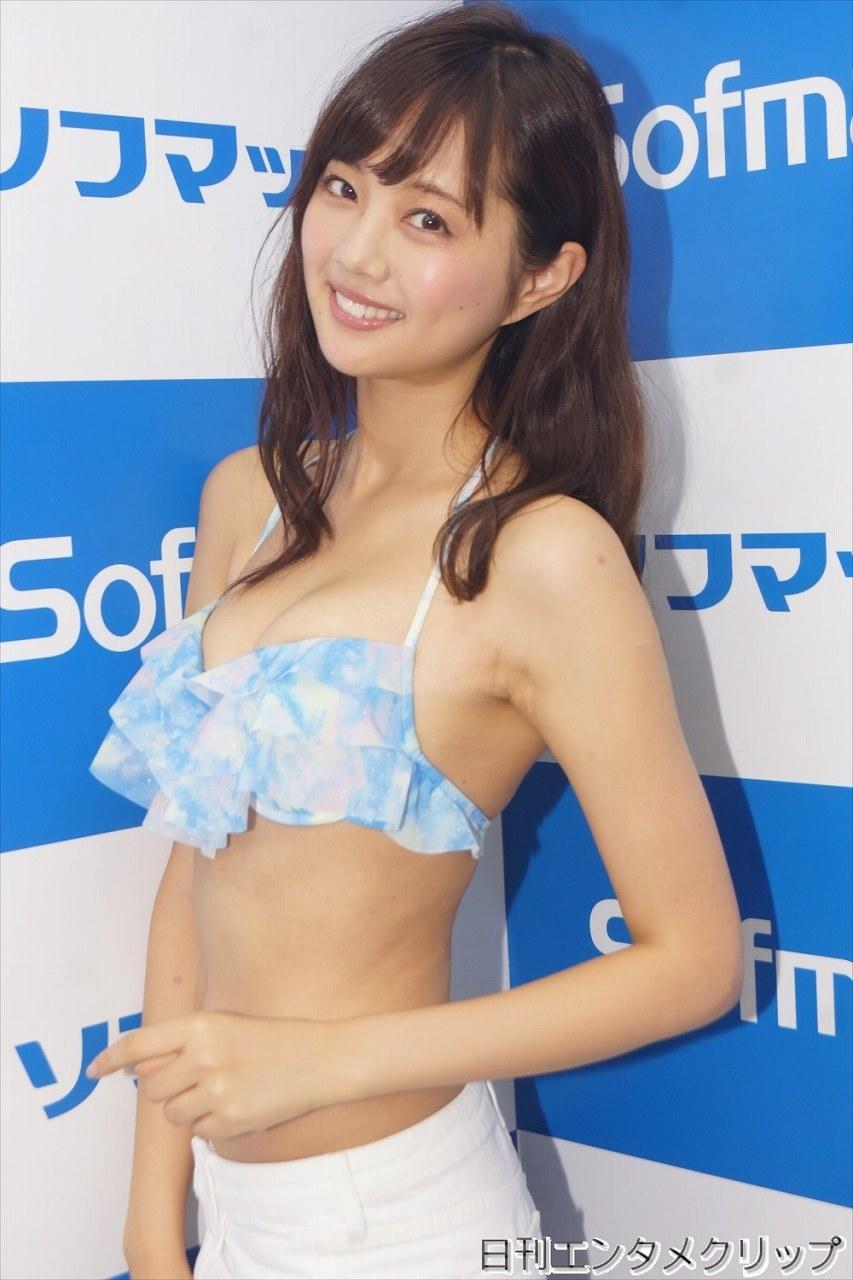 DVD&Blu-ray「るい色予報」の発売記念イベントでソフマップに登場した熊江琉唯