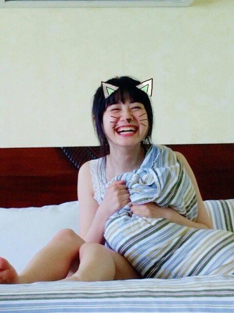 伊藤美来の1st写真集「むじゃき。」撮影オフショット