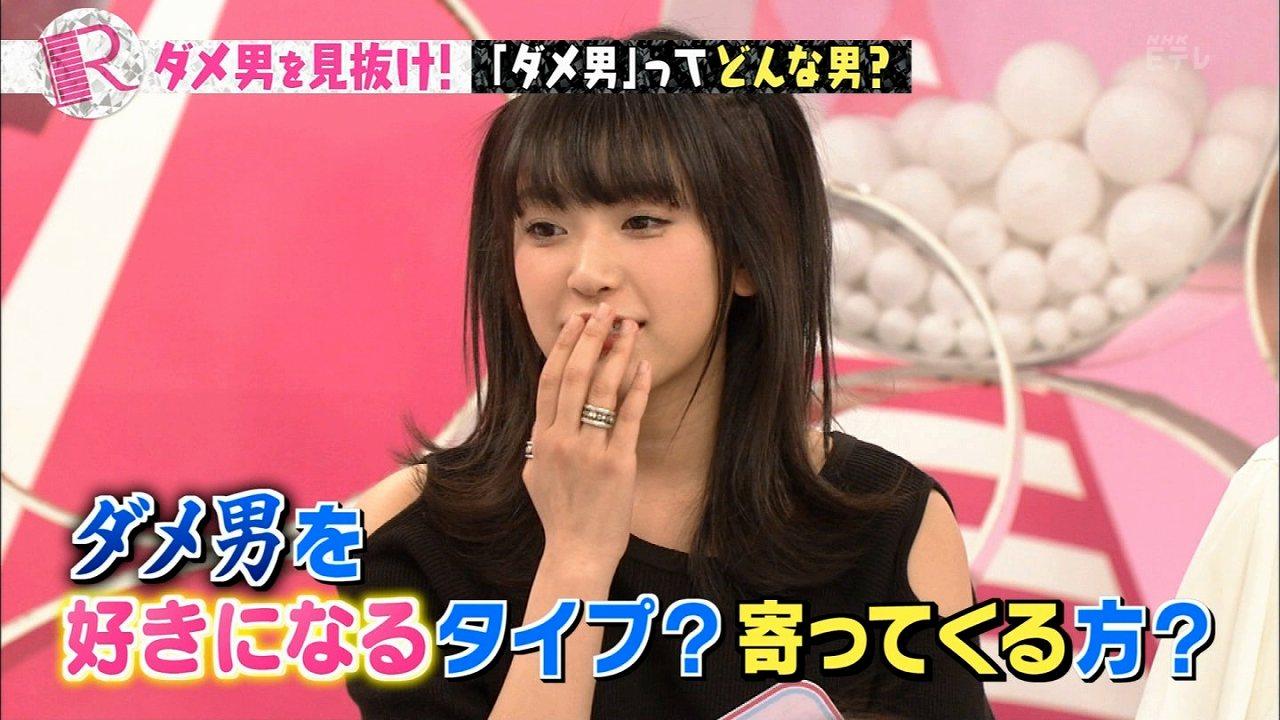 NHK・Eテレ「Rの法則」ダメ男を見抜けで「ダメ男好きだし寄って来る」と語るほのかりん