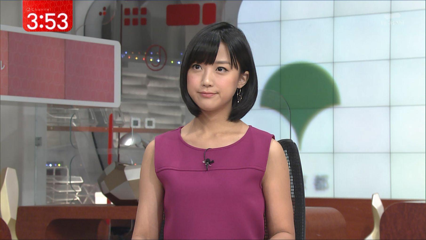 テレ朝「スーパーJチャンネル」の竹内由恵