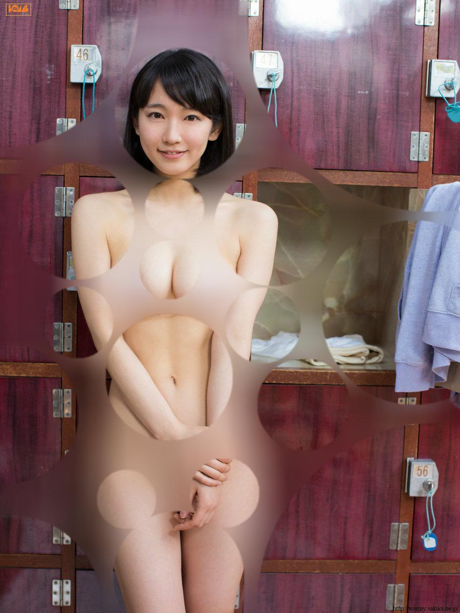 吉岡里帆の水玉コラ