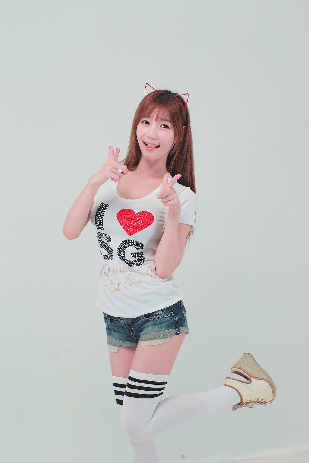 エッチな体をしている韓国人の女