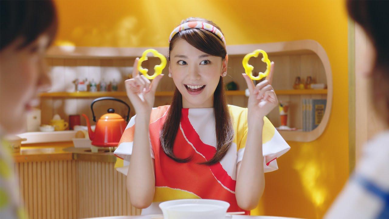 日清チキンラーメンCMの新垣結衣