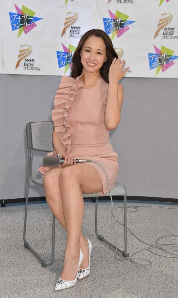NHK・BSプレミアム『アナザーストーリーズ 運命の分岐点』のMCを務めることになり会見を行った沢尻エリカ