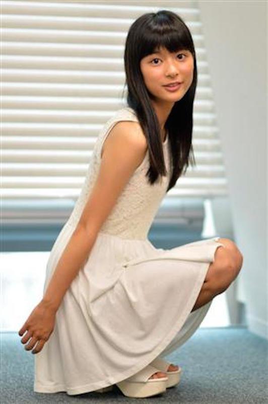 芳根京子のグラビア
