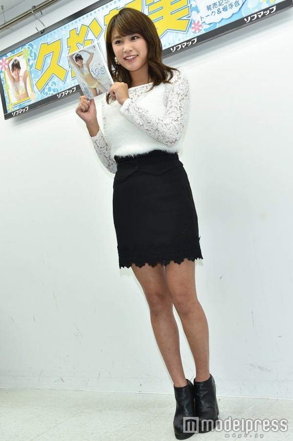 DVD「193(いくみ)」の発売記念イベントでソフマップに登場した久松郁実