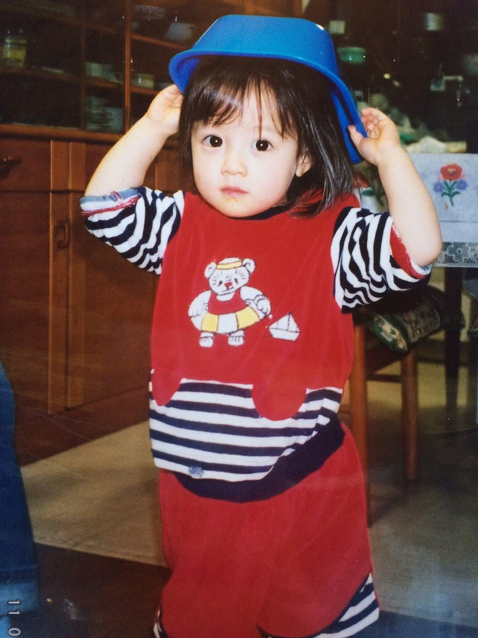 幼少期(2歳の頃)の橋本環奈