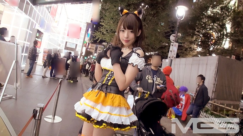 AV「ナンパTV ハロウィンナンパ 04 in 渋谷 チームN さき 21歳 釣具専門店店員」画像