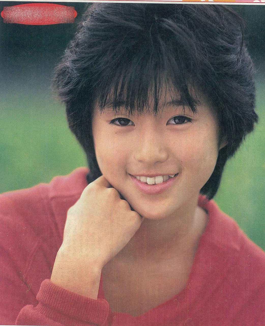 デビュー前、整形してない酒井法子の顔
