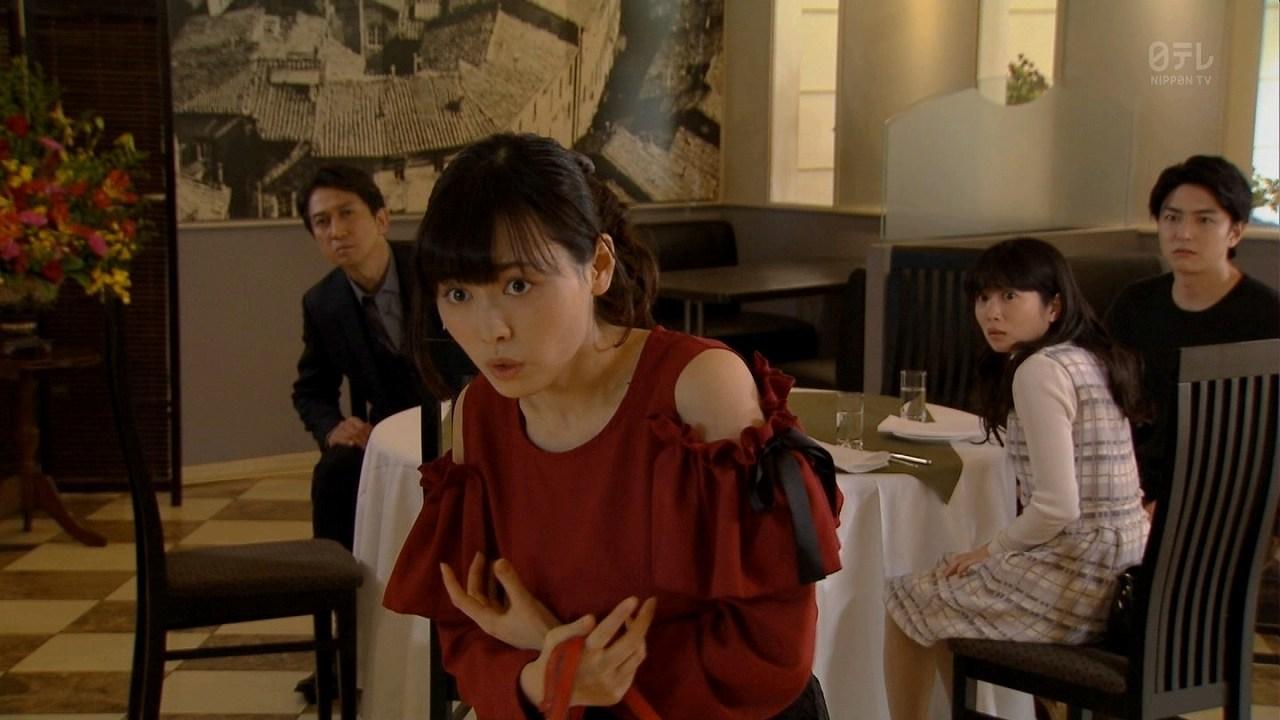 ドラマ「レンタル救世主」で見えた福原遥の着衣巨乳