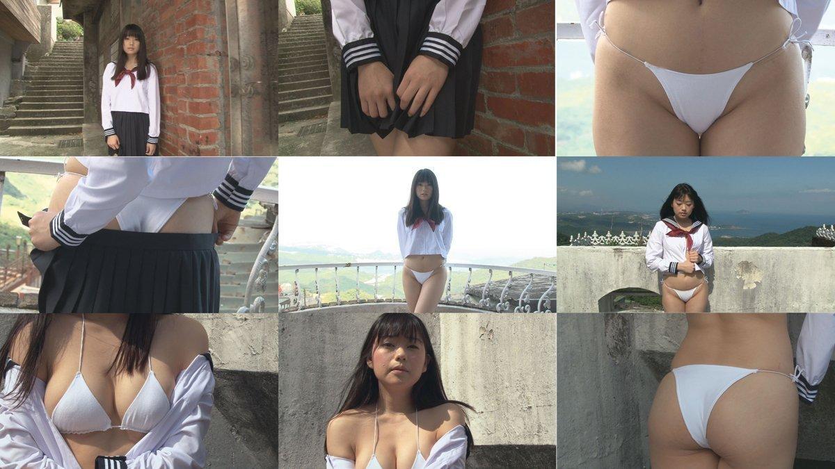 冨手麻妙のイメージビデオ「そばにいて..」キャプチャ画像