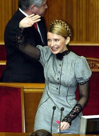 ウクライナの可愛すぎる政治家、ユーリヤ・ティモシェンコ(Julija Tymoschenko)