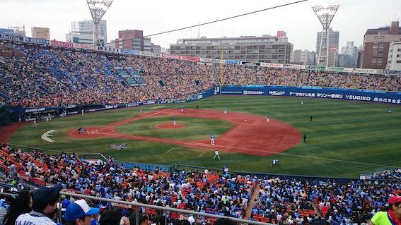 横浜スタジアム写真