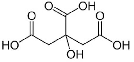 クエン酸 化学記号