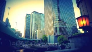 大都会の風景