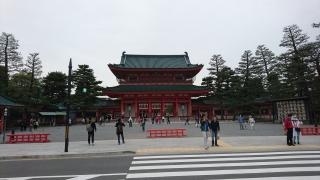 平安神宮前