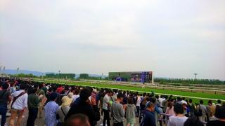 レース直後の風景