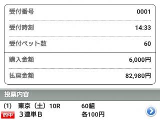 10083連単勝負