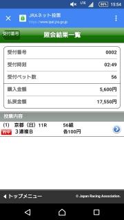菊花賞20161023