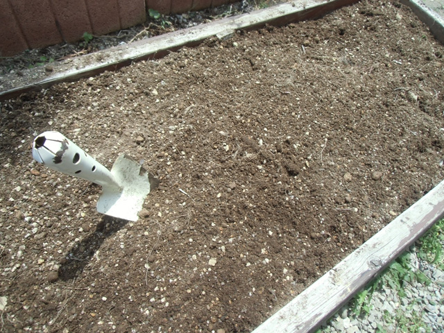 土を配合しました