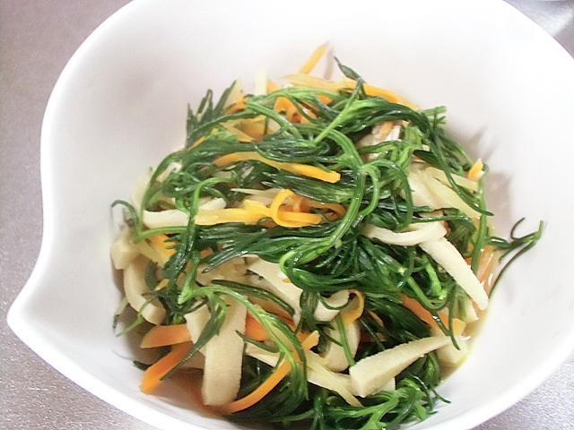 オカヒジキ豆腐