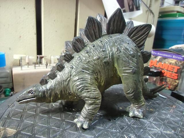 タミヤのステゴザウルス