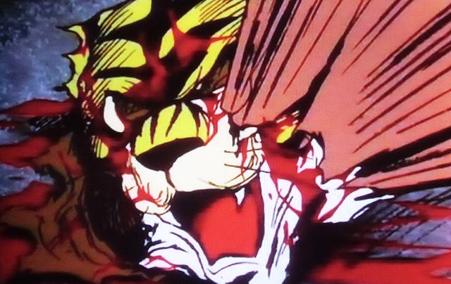血塗られたマスク