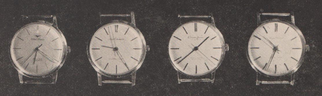テストされた時計