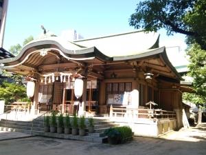 い坐摩神社8