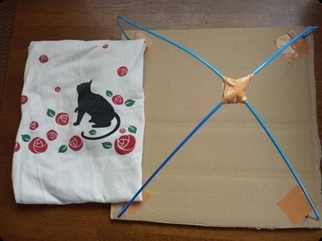 にゃんこ用テント1