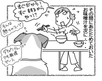 羊の国のラブラドール絵日記シニア!!「コース料理ハンターい」3