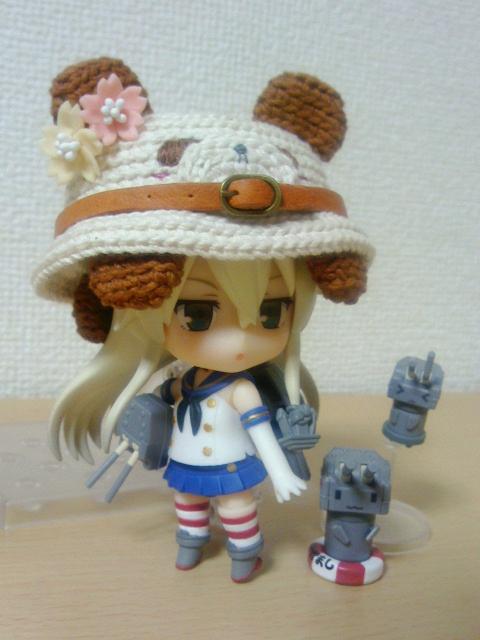 編みぐるみ帽子3